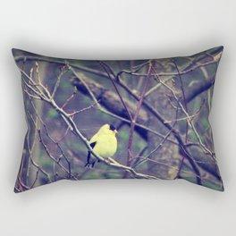 I Spy a Goldfinch Rectangular Pillow