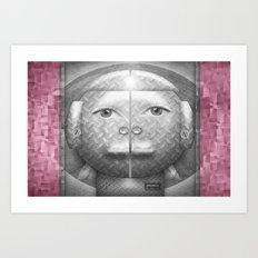 Flumercury Woman Art Print