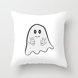 """I Hope Ghost Believe In Me"" tee design. Cite and adorable tee that makes a nice gift to everyone! Throw Pillow"