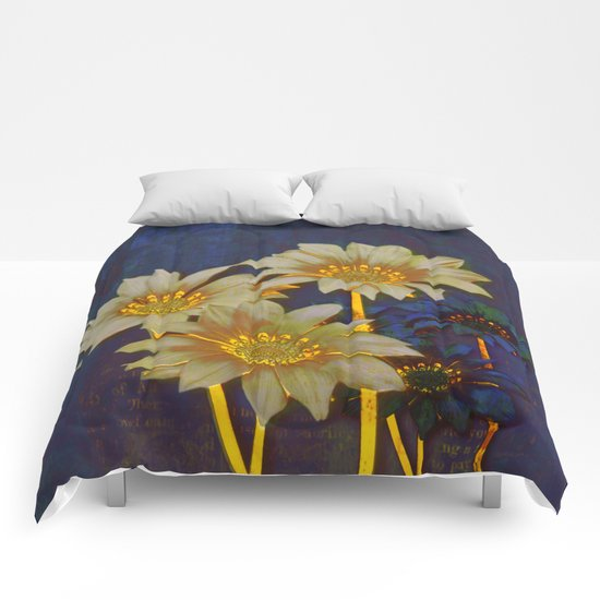night floral Comforters