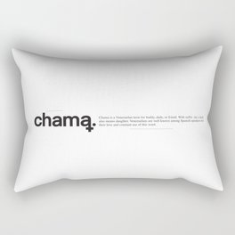 Chama Wiki Rectangular Pillow