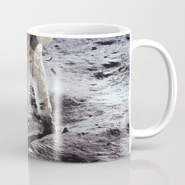 Apollo 11 - Iconic Buzz Aldrin On The Moon Coffee Mug