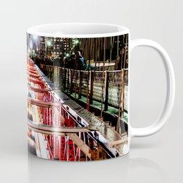 Brooklyn Bridge traffic Coffee Mug