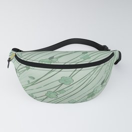 Creeping Flower & Leaves 10 Fanny Pack