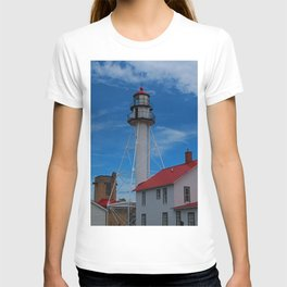 Whitefish Point Lighthouse III T-shirt