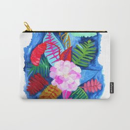 Tropical Posy Carry-All Pouch