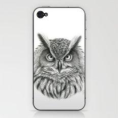 Bubo bubo G2012-046 owl iPhone & iPod Skin