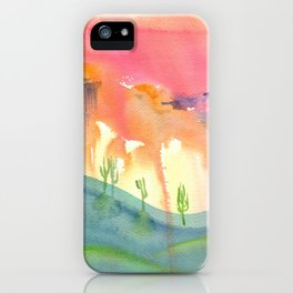 Desert iPhone Case