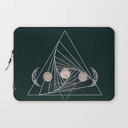 Moon Matrix Laptop Sleeve