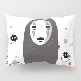 No face and the sprites Pillow Sham