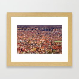 Italian city Framed Art Print
