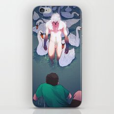 The pond near the linden tree iPhone & iPod Skin