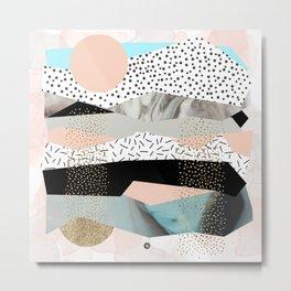 GEOMETRIC SHAPES 03 Metal Print