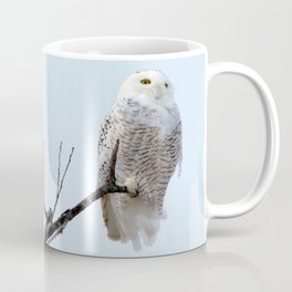 Lofty Vision (Snowy Owl) Coffee Mug