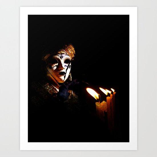 Mask 9 Art Print