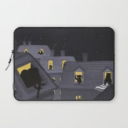 Animals in their houses at night Laptop Sleeve