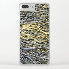 Detail of Seaweed Clear iPhone Case