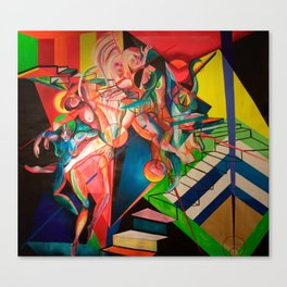 The Sacrificial Dance Canvas Print