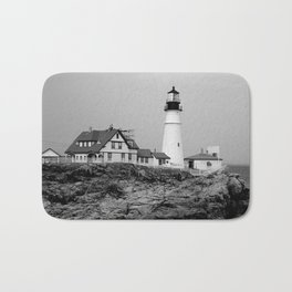 Portland Head Lighthouse Bath Mat