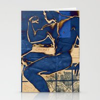 muscle Stationery Cards featuring Muscle. by Azure Cricket