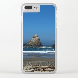 Admire Your Beauty Clear iPhone Case