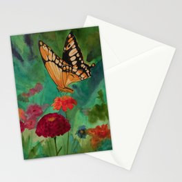 Summer Butterfly Stationery Cards