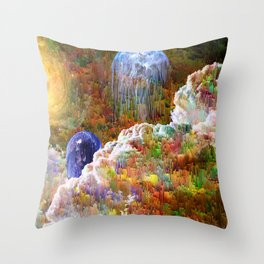 Luminosus Throw Pillow