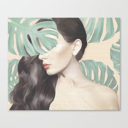 Monstera Suara Canvas Print