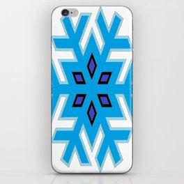 A Ice/Snow Flake  iPhone Skin