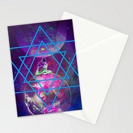Purple Dakini Warrior Stationery Cards