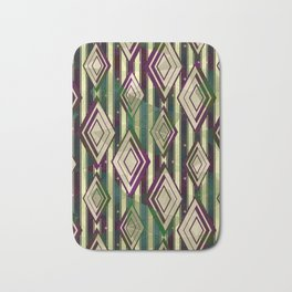 Abstract geometric pattern.3 Bath Mat