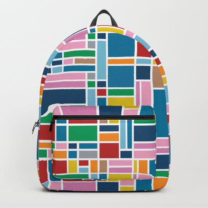 Stained Glass W Backpack