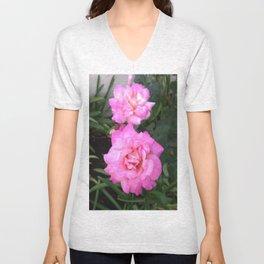 Renegade Roses III Unisex V-Neck