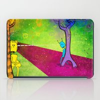 lovers iPad Cases featuring Lovers by KadetKat