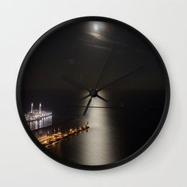Navy Pier Moonlight Wall Clock