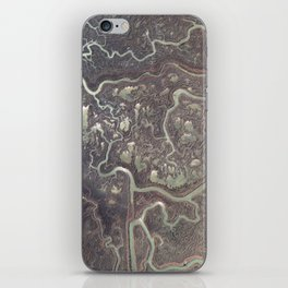 Earth from above iPhone Skin
