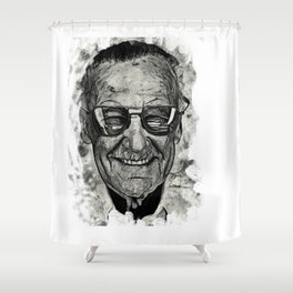 Stan Lee 02 Shower Curtain