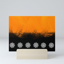 Sunset Mandala Mini Art Print