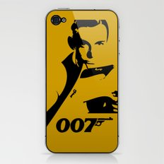 007 James Bond iPhone & iPod Skin