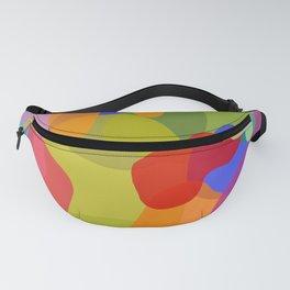Rainbow Jelly Layers Fanny Pack