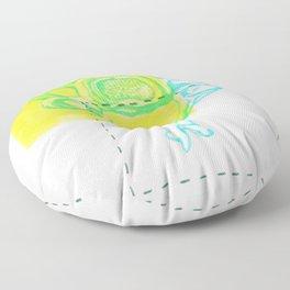 4th Cervical Vertebra Floor Pillow