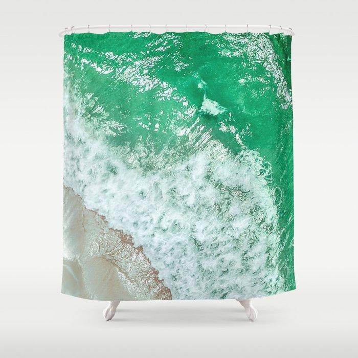 Emerald Sea Shower Curtain