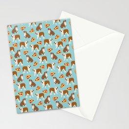 Pizza&Bulldog Stationery Cards