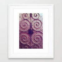 cycle Framed Art Prints featuring cycle by Claudia Drossert
