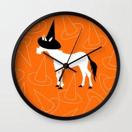 Witch Hat Unicorn Wall Clock