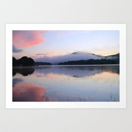 Tranquil Morning in the Adirondacks Art Print