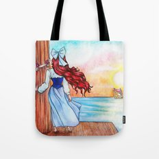 When Love Sails Away... Tote Bag