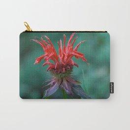 Scarlet Bee Balm {Monarda didyma L.} Carry-All Pouch