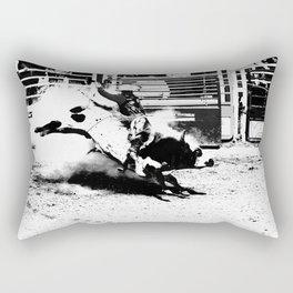 Bull Riding Champ Rectangular Pillow