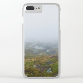Gloomy landscape Clear iPhone Case